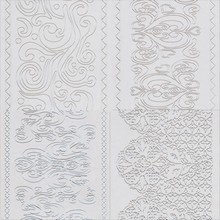 Assorted Lace Print Impression Mat