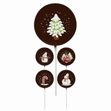 Christmas Themed Lollipop Transfer Sheets