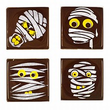 Plaques thermoformées momies