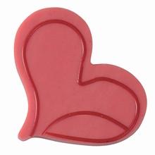 20-C016 Plaque à deux couches décoration coeur