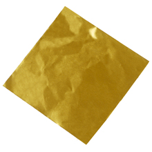 p910gl Lined Gold Confectionery Foil  9x10in