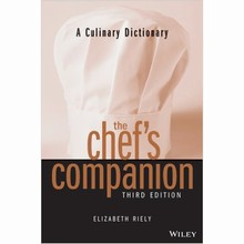 L233 The Chef's Companion: A Culinary Dictionary by Elizabeth Riely