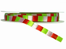 r437 Christmas Checkered Ribbon