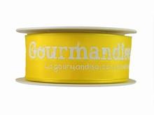 r272 Ruban 'Gourmandise' jaune