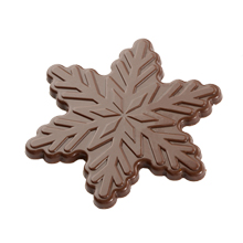 b277 MLD090554 Snowflake Chocolate Mold 2.75