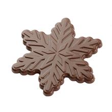 b277 MLD090554 Moule chocolat flocon de neige 70mm