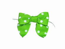 bow22 Green Polkadot Bow Twist Ties