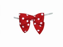 bow25 Red Polkadot Bow Twist Ties