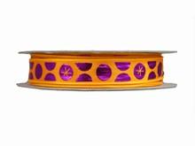 r717 Shiny Purple Dot Ribbon