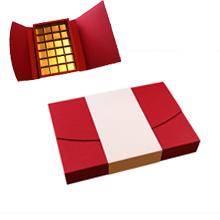 ANT424 Boîte écrin rouge et crème 24ct