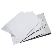 5x7 papier confiseur argent