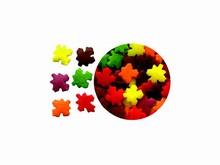 78-11313 Paillettes confettis feuilles d'automne