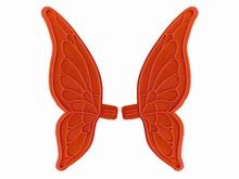 01060 2 Moyennes ailes fines de papillon