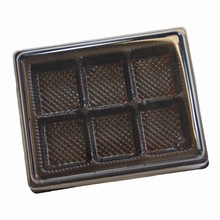 13E Espresso pvc thermoformed box