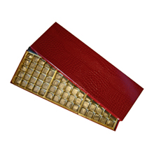 91764875B Red Croco 75ct box