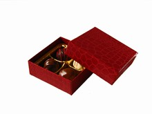 9176100 Red Croco Top and Base 4ct Box