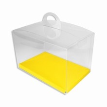 CRY3GY Boîte crystal avec plateforme réversible lime/jaune