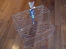 Présentoir acrylique à sacs cônes