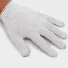 Cotton Gloves (12 pairs) small