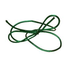 Ruban élastique vert métallique