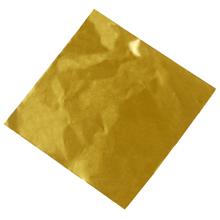 6x8  papier confiseur doré