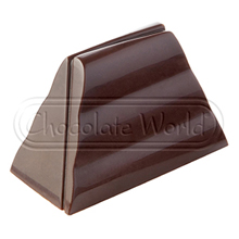 CW1835 Modern Shape Chocolate Mold
