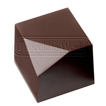 CW1840 Moule chocolat cube moderne