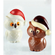 KT147 CIVETTA Thermoformed Christmas Owls