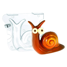 DRCP014 Snail 3D Chocolate Mold
