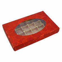 cc1047 Valentino 1lb rect. box