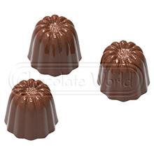 CW1859 Moule chocolat mini cannelés