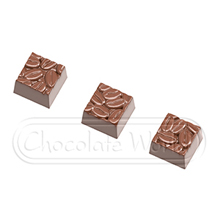 CW1877 Coffee Bean Embossed Squares