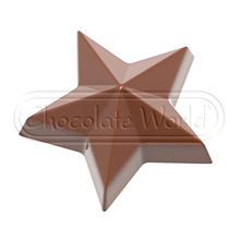 CW1862 Star Chocolate Mold