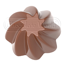 CW1860 Star Spiral Chocolate Mold