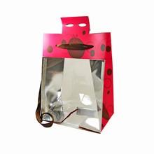 3D Pink and Brown Easter Bag