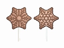 art16679 Snowflake Lollipop Mold