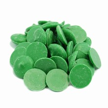 Dark Green Confectionary Coating Wafers