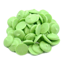 Green Confectionary Coating Wafers