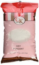 Dry fondant 1lb ck