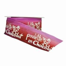 r858 Poulette en chocolat ombré rouge