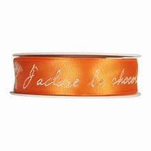 r877 'J'adore le Chocolat' orange