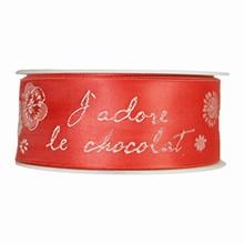 r880 'J'adore le Chocolat' rouge
