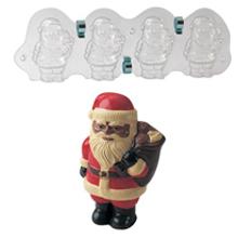 MAC260 3D Santa Claus Mold