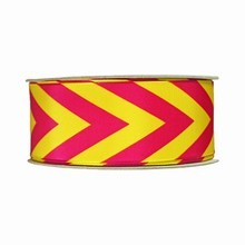r183 Pink and Yellow Ribbon