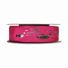 r451 Ruban rose à poissons