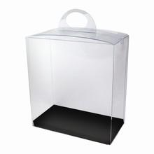 CRY5BW Boîte crystal avec plateforme réversible noire/blanche