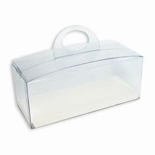 CRY2BW Boîte crystal avec plateforme réversible noire/blanche