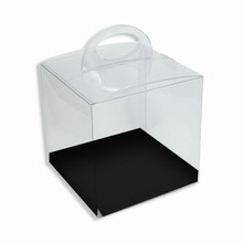 CRY1BW Reversible Black and White Platform Crystal Box