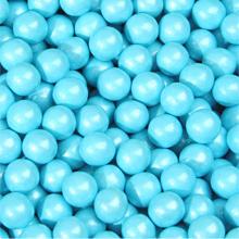 Sixlets bleu poudre perlé