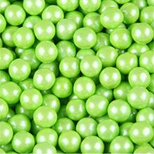 Sixlets perlés vert lime